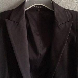 Navy blazer almost black